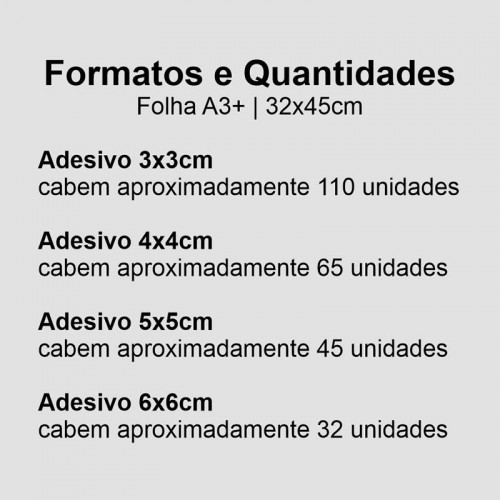 Adesivo Vinil OURO ESCOVADO A3+ 4/0 + MEIO CORTE